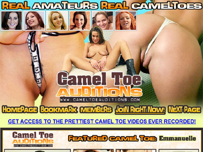 Camel Toe Auditions