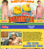 Dirty Baby Sitter Adult Review