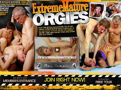 Extreme Mature Orgies