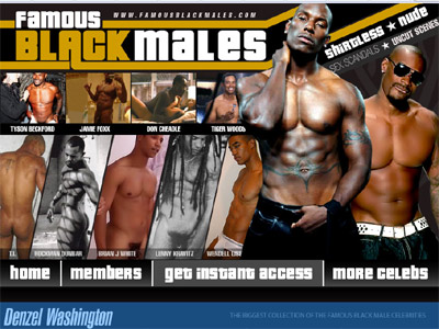 famous black males 400 300 Adult leather and bondage fetish sex wear clothing and accessories.