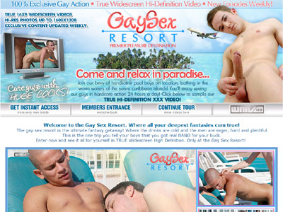 Gay Sex Resort