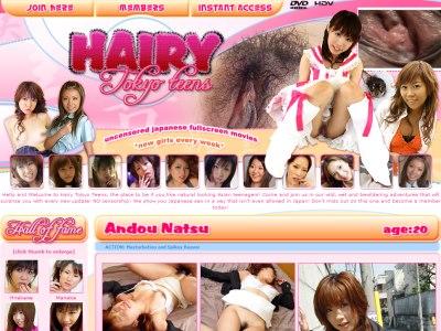 Hairy Tokyo Teens