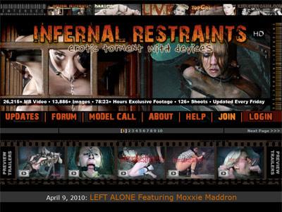 infernal restraints 400 300 Neon Genesis Evangelion   The Human Salvation Project Hi Res GIFs