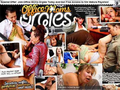 Office Moms Orgies