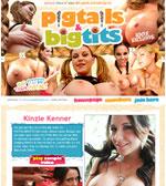 Pigtails Big Tits