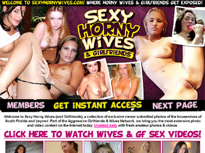 Sexy Horny Wives